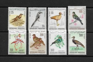 BIRDS - TUNISIA #C25-32   MNH
