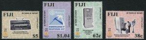 HERRICKSTAMP NEW ISSUES FIJI Sc.# 1349-52 80th Anniv. Rotary