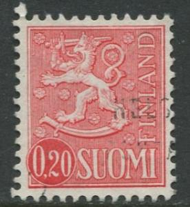 Finland - Scott 402 - Definitives -1963- Used - Single 20p Stamp