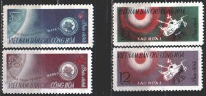 Vietnam. 1963. 258-61. Space. MNH.
