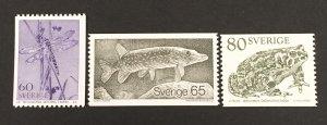 Sweden 1979 #1295-7, Scenes, MNH