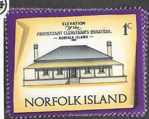Norfolk Islands #156  Buildings (MNH)  CV$0.25