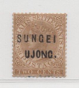 Malaya Sungei Ujong - 1883-84 - SG30 - 2c Brown - MH #641