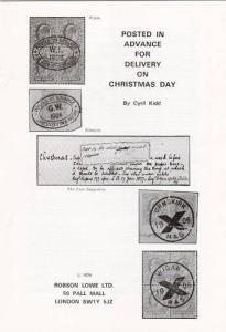 Posted in Advance for Christmas Delivery, by Cyril Kidd, NEW