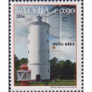 Latvia 2016 Lighthouses of Latvia  (MNH)  - Lighthouses
