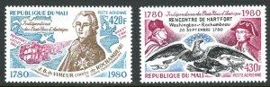 Mali C393-C394 USA Independence MNH mint      (Inv 001298.)