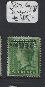 MONTSERRAT  (P2912B)  QV 6D  SG 2   VFU  COPY 2