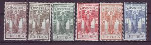 J21260 Jlstamps 1926 eritrea set mh #b11-6 peace