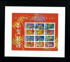 2006 Washington DC Happy New Year Chinese Zodiac First Day Cover