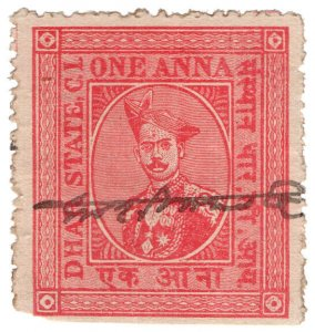 (I.B) India (Princely States) Revenue : Dhar State 1a