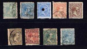 SPAIN STAMP OLD USED STAMP COLLECTION LOT #W3