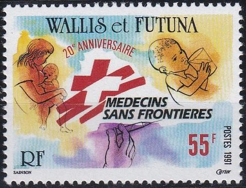 Wallis and Futuna 408 MNH (1991)