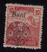 HUNGARY, 1919, MNH 10f, (Kolozsvar) Very Fine Scott 5N5A