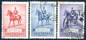 AUSTRALIA-1935 Silver Jubilee Set  Sg 156-158  FINE USED V15395