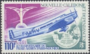 New Caledonia Scott #'s C91 MNH