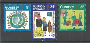 1985 Guernsey Girl Guides & IYY