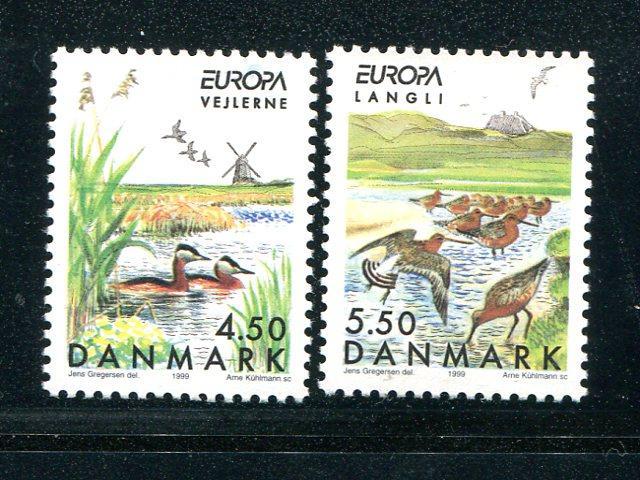 Denmark Europa  1999 Mint VF NH - Lakeshore Philatelics
