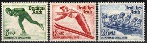 Germany #B79-81 MNH CV $55.00  (X6993)