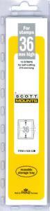 Scott Mounts Clear 36mm STRIP 215 ,(Pgk. 15)(00928C)