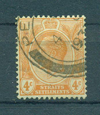 Straits Settlements sc# 185 (3) used cat value $.25