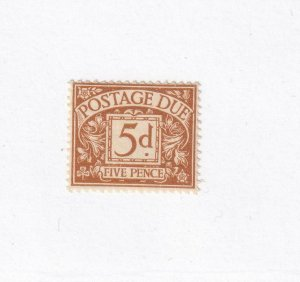 GREAT BRITAIN # J20,23-24,33 VF-MLH POSTAGE DUES CAT VALUE $77.50