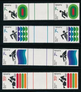 Australia - Munich Olympic Games Pair Set (1972)