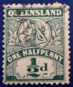 Australia Queensland Scott # 124 Used (A220)