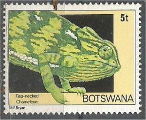 BOTSWANA, 1980, MNH 5t, Chameleon. Scott 243