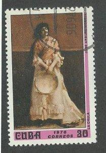 1976 Cuba Scott Catalog Number 2033 Used
