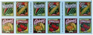 Summer Harvest Sheet of 20 Forever Postage Stamps Scott 5007d