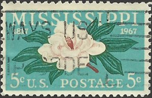 # 1337 USED MISSISSIPPI STATEHOOD 150TH ANNIV.