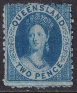 Australia - Queensland 1868-1875 SC 46 Mint