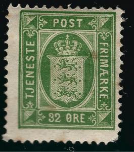 Denmark Nice SC O9 Fine Mint OG hr SCV $27.50... Fill a bargain spot!