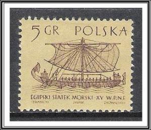 Poland #1124 Ancient Ships MH