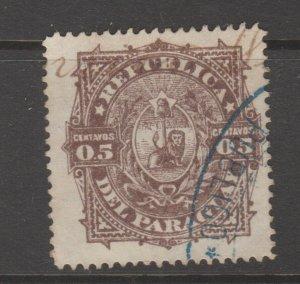Paraguay Revenue Fiscal Cinderella stamp 9-20-10