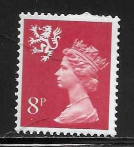 Great Britain Scotland SMH10 8p Machin MNH