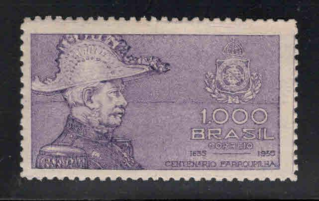 Brazil Scott 410 MH* 1935 stamp