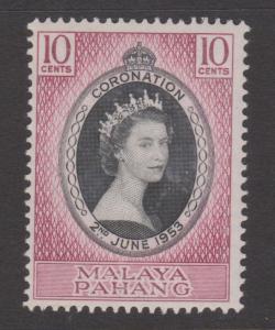 Malaya Pahang 1953 Coronation Sc#71 MNH