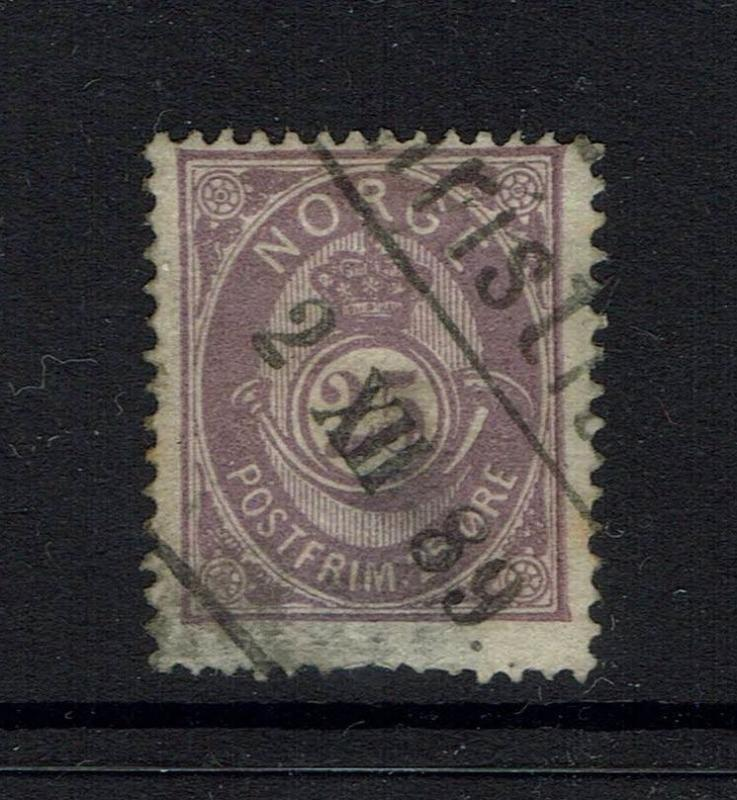 Norway SC# 45, Used, small lower thin - Lot 041617