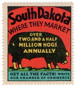 (I.B) US Cinderella : South Dakota Chamber of Commerce (Hogs)