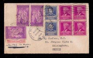 US Sc 876-877 Postal History Cover Scientists Sc 895 Block,Pair,Single F-VF