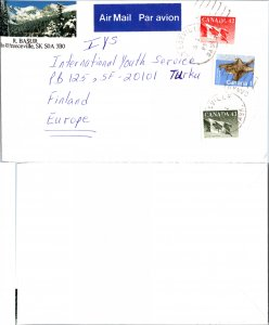 CANADA GOING TO FINLAND SEE SCAN TJ298