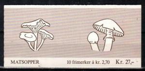 Norway Scott 885a Mint NH booklet (Catalog Value $17.50)