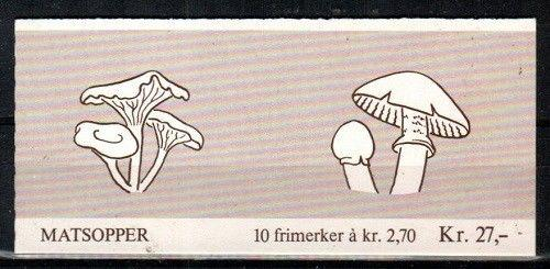 Norway Scott 885a Mint NH booklet (Catalog Value $17.50)