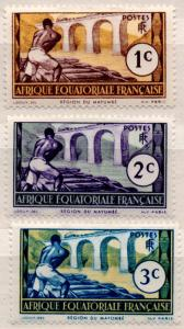 (I.B) France Colonial Postal : Equatorial Collection