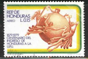 Honduras  Scott C668 Used airmail stamp
