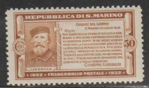 San Marino   SC  146  Mint  Hinged