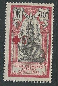 French India ||  Scott # B5 - MH