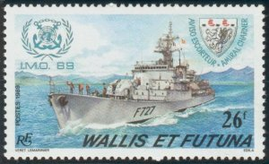 Wallis & Futtuna 1989  Aviso frigate Admiral Charner mint**