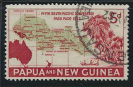 PNG - SG 36    Scott 167  Used - SPECIAL